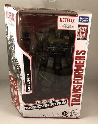 transformers war for cybertron trilogy netflix Deluxe Class Hound
