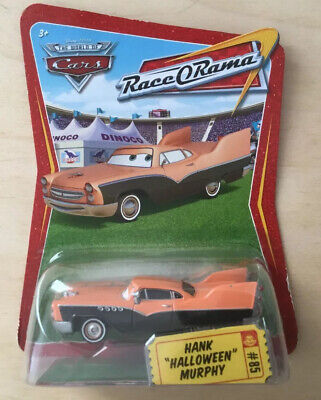 "Disney Pixar Cars Hank ""Halloween"" Murphy Mattel P1646 - Race O Rama"