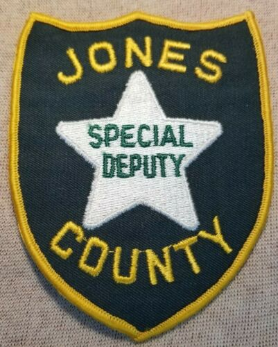 MS Jones County Mississippi Special Deputy Sheriff Patch
