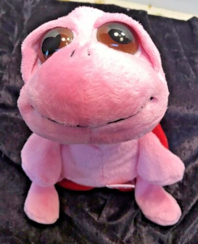 """Russ Squirtle Pink Plush Turtle 9"""""""