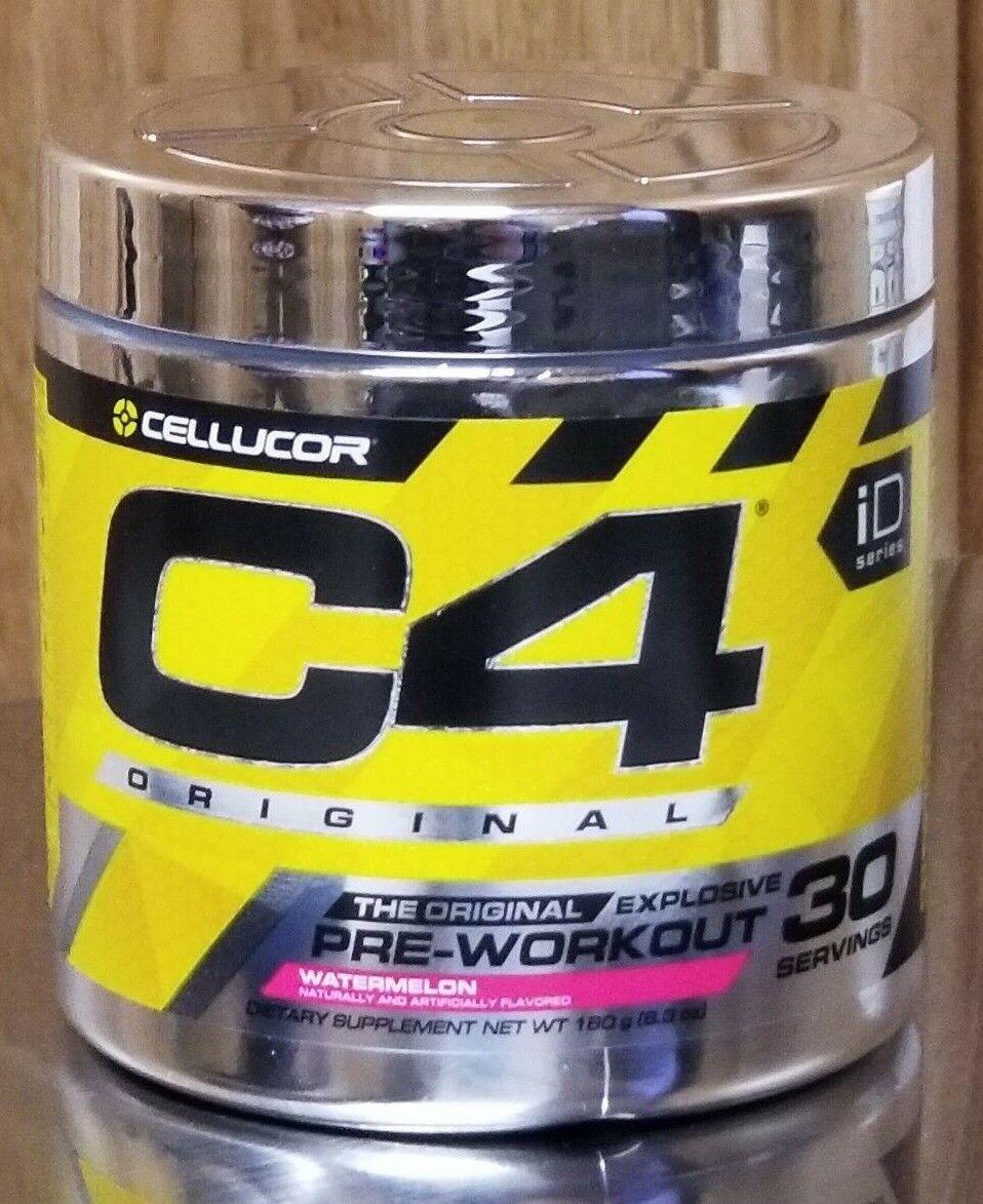 Cellucor C4 Original Explosive Pre-Workout 30 Srv Watermelon ID Series
