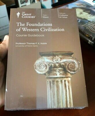 """New """"Foundations of Western Civilization"""" Great Courses - The Teaching Company"""