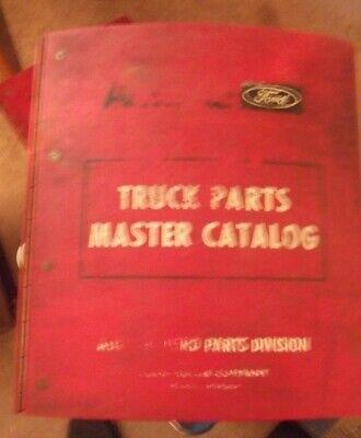 1964-1972 Ford Truck Master Parts Catalog Ford Truck Master Parts Catalog