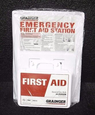 First Aid Kit  Plastic Case Material  General Purpose  46A930  M