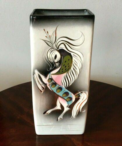 Sasha Brastoff Signed Horse Vase Mid Century