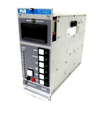 Used Ris Vt-2491 Vibration Monitor Vt-2491-2-r-x-e-cc Vt2491 Vt-2490