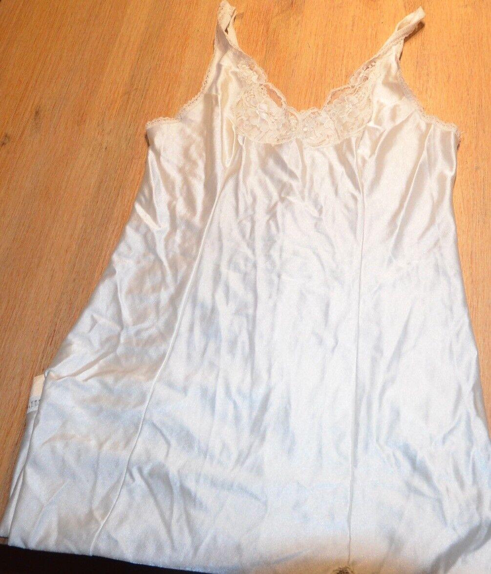 Nylon-Unterkleid Gr. 42,champagner, Damenmode ></noscript> Damenunterwäsche > Unterröcke
