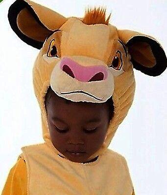 BRAND NEW NWT DISNEY STORE SIMBA LION KING PLUSH COSTUME BABY TODDLER SIZE 3T 3