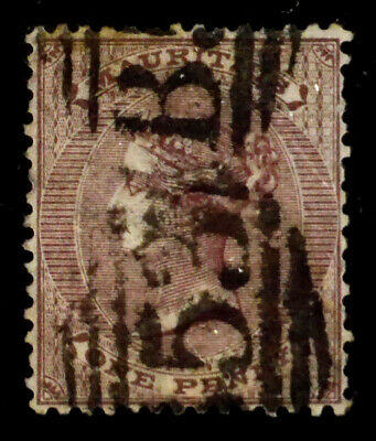 MAURITIUS, BRITISH: 1860 19TH CENTURY CLASSIC ERA STAMP SCT #24 CV $37.50 SOUND