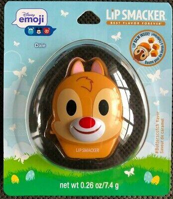 New Lip Smacker Disney Emoji Hard to Find Lip Balm Dale Butterscotch Best