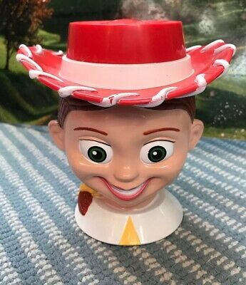 Jessie On Toy Story (Toy Story 2 Jessie Cowgirl Flip Lid Mug Disney On Ice Kids Drink Cup Pixar)