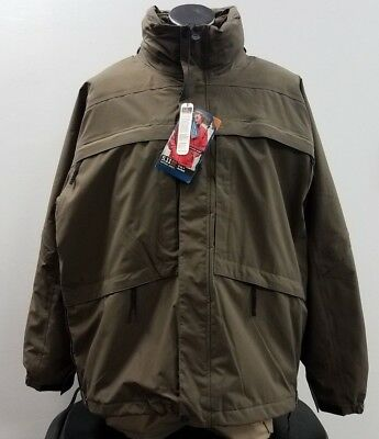 5.11 Tactical Aggressor Parka, Tundra, NWT, 2X-Large, 48032-192