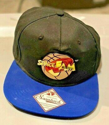 Vintage Space Jam Movie Snapback NBA Hat Cap Big Logo Jordan NWT