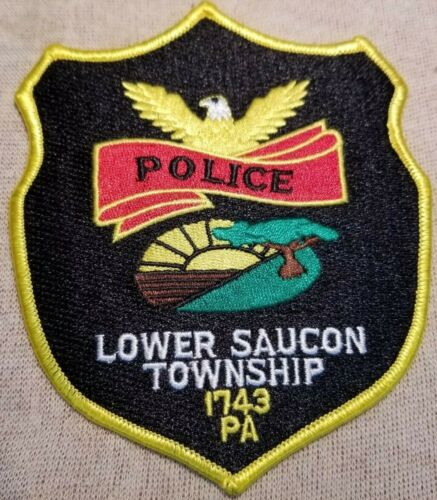 PA Lower Saucon Twp. Pennsylvania Police Patch