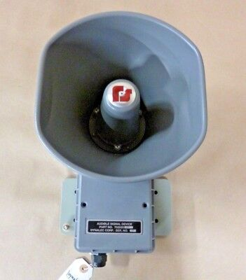 Federal Signal Signal Horn Loudspeaker Audible Signal Device 120v 110db 10 Ft.