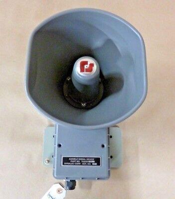 Federal Signal Signal Horn Loudspeaker Audible Signal Device 120v 110db 10 Ft.