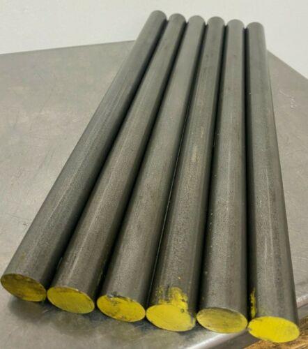 "1018 Steel Bar, Cold Drawn Round 13/16 Dia. x 12"" length  (6 Bar Lot)"
