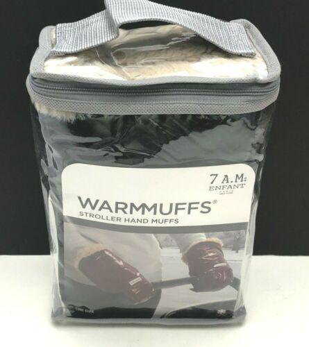 7AM Enfant Warmmuff Stroller/Handlebar Hand Muffs/Mitten/Gloves Black HM200 NEW