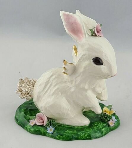 Vintage Angel Bunny Hippity Robyn Sikking Figurine