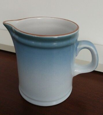 Azure By Nikko Gradiance Blue Rim Creamer Pitcher Made in Japan
