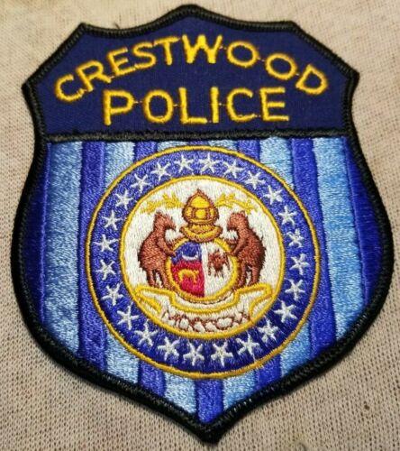 MO Crestwood Missouri Police Patch