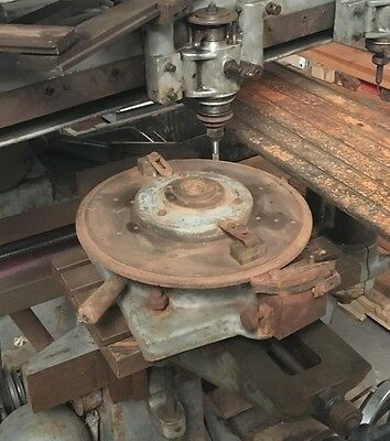 1 Indexing Dividing Work Holder Pantograph 3d Engraving Mill Gorton P1-3
