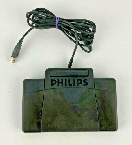 Philips USB Foot Control Pedal Digital Transcription Anti-Slip LFH2330 TESTED