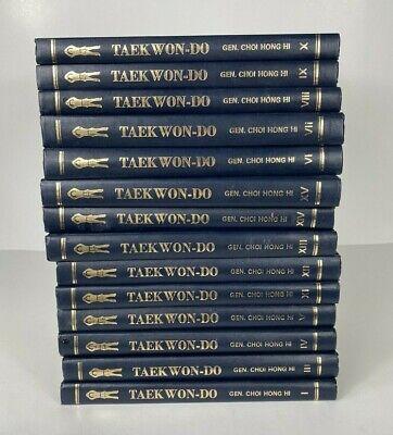 Encyclopedia of Taekwon-Do, Gen. Choi Hong Hi, FIRST EDITION 14/15 Volume Set