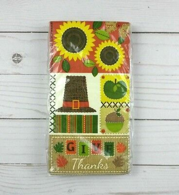 Paper Dinner Napkins Guest Towels Buffet Party 20 Ct Fall Leaves