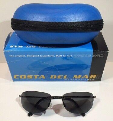 7c99683b68 Costa Del Mar Catcher Gunmetal Gray Polycarbonate Sunglasses POLARIZED  FC22GPCP