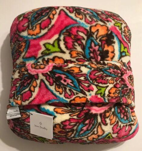 Vera Bradley Fleece Travel Blanket Sunburst Floral