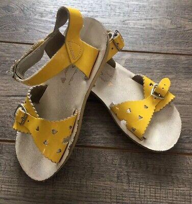 Sun San Salt Water Sandals, Yellow Size 11 Yellow Girls Sandals