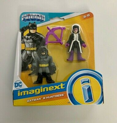 Fisher Price Imaginext DC Super Friends Batman and Huntress New in Package