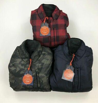 Weatherproof Vintage Mens Puffer Vest Reversible Fleece Variety Sizes -