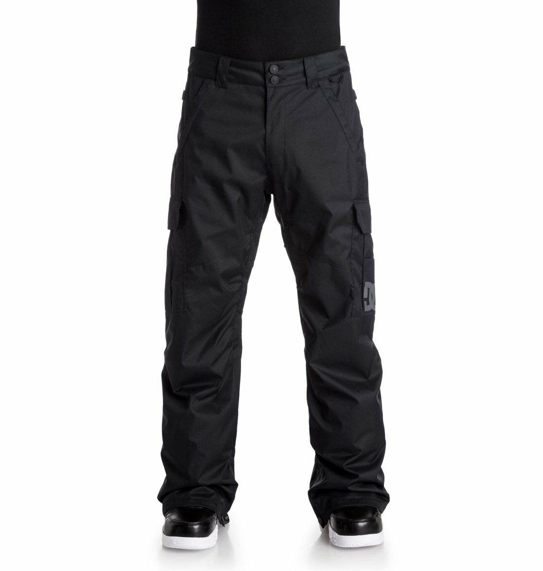 Pantaloni Uomo da Snowboard DC Shoes Banshee Nero Black Sci Montagna Inverno
