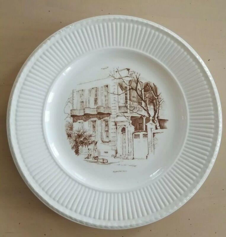 Wedgewood Charleston Plate 18 Meeting St Elizabeth O
