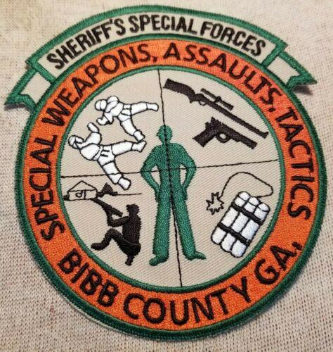 GA Bibb County Georgia Special Forces Sheriff Patch
