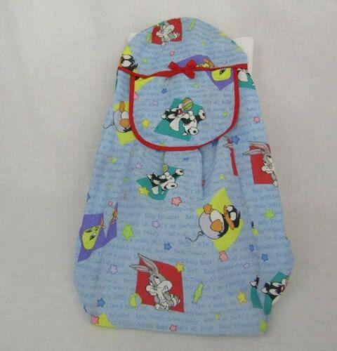VTG Baby Looney Tunes Diaper Stacker Bugs Tweety Sylvester Warner Bros Nursery