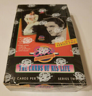 Vintage 1992 Elvis Collection The Cards of His Life Series 2 Sealed Box