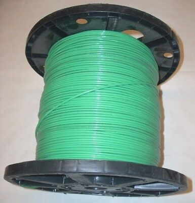 12 Awg Green Stranded Copper Electrical Wire Cable Thhn Made In Usa 38.34 Lbs