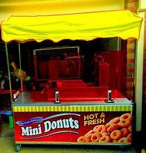 Mobile mini doughnut cart,food van,mobile donut,start NOW!!! Caroline Springs Melton Area Preview