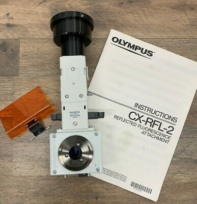 Olympus Cx-rfa-2 Fluorescence Illuminator For Cx-41 Microscope