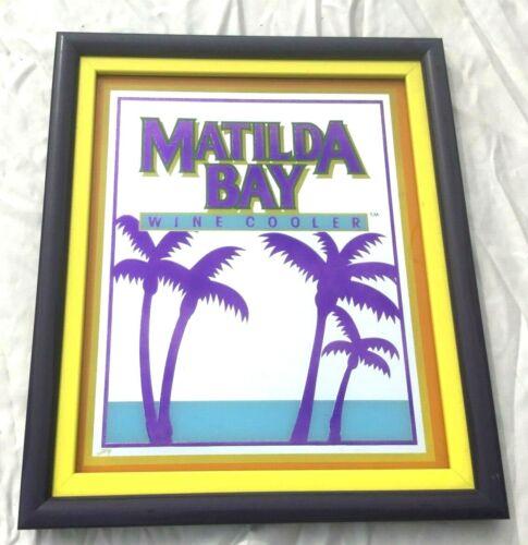 MATALDA BAY Wine Cooler MIrror - Excellent Condition.  Very Colorful!