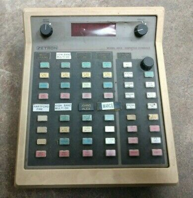 Zetron Model 4016 Dispatch Paging Communication Console Police Fire Ems Security