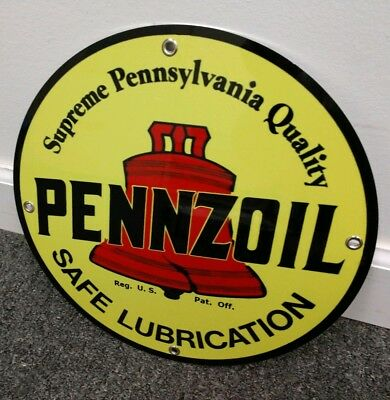 Pennzoil Gas Oil gasoline sign ... free ship on any 10 signs (On Sign)