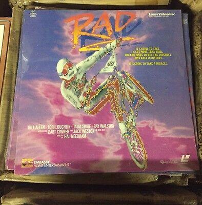 Rad Rare Laserdisc New In Plastic