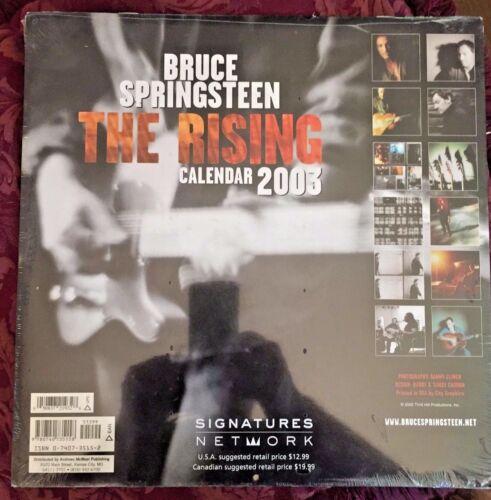 RARE BRUCE SPRINGSTEEN THE RISING 2003 CALENDAR BRAND NEW SEALED no CD lp