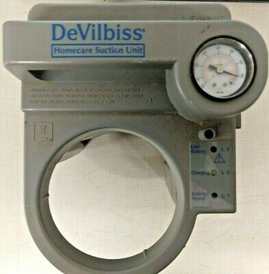 Devilbliss 7305p-d Homecare Suction Unit Portable 12v 33w Max Medical Sunrise Md
