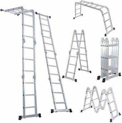 3.4M (11.2FT) MULTI PURPOSE LADDER - 13 IN 1