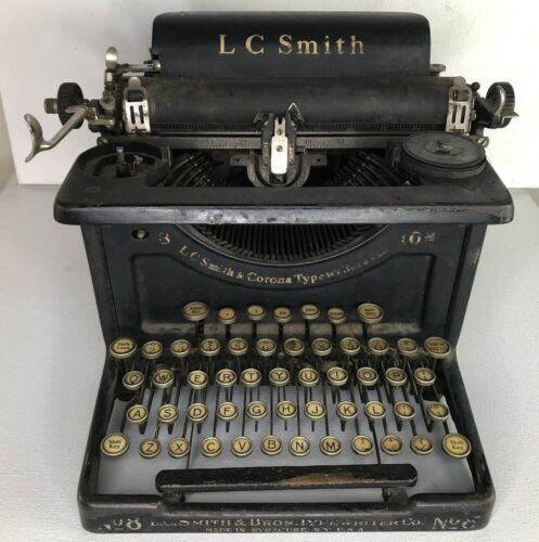L.C. SMITH & CORONA Typewriter No.8